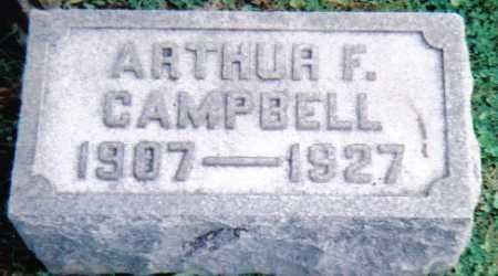 CAMPBELL, ARTHUR F. - Scioto County, Ohio | ARTHUR F. CAMPBELL - Ohio Gravestone Photos
