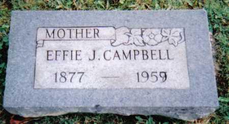 CAMPBELL, EFFIE J. - Scioto County, Ohio | EFFIE J. CAMPBELL - Ohio Gravestone Photos