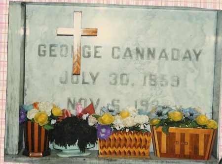 CANNADAY, GEORGE - Scioto County, Ohio | GEORGE CANNADAY - Ohio Gravestone Photos