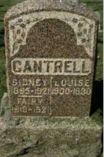 CANTRELL, SIDNEY - Scioto County, Ohio | SIDNEY CANTRELL - Ohio Gravestone Photos