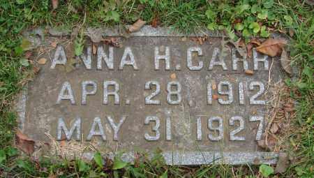 CARR, ANNA HAZEL - Scioto County, Ohio   ANNA HAZEL CARR - Ohio Gravestone Photos