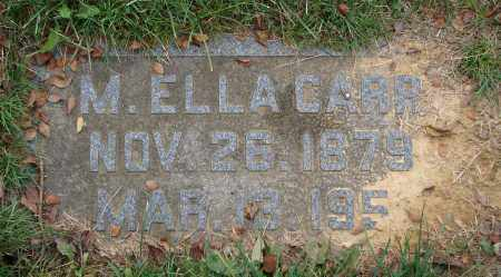 WILSON CARR, MARY E. - Scioto County, Ohio   MARY E. WILSON CARR - Ohio Gravestone Photos