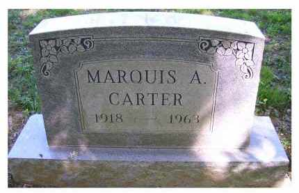 CARTER, MARQUIS A. - Scioto County, Ohio | MARQUIS A. CARTER - Ohio Gravestone Photos