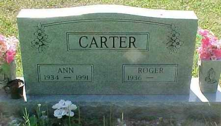 CARTER, ROGER - Scioto County, Ohio | ROGER CARTER - Ohio Gravestone Photos