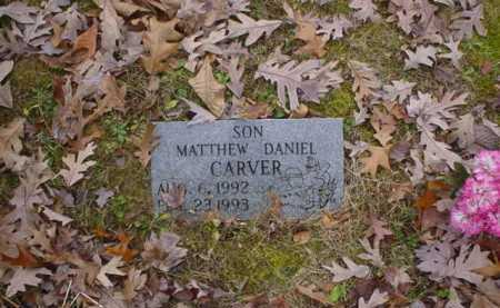 CARVER, MATTHEW DANIEL - Scioto County, Ohio | MATTHEW DANIEL CARVER - Ohio Gravestone Photos