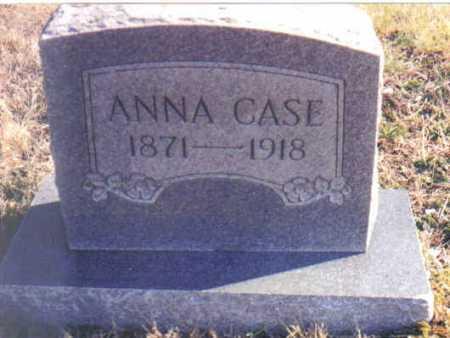 CASE, ANNA - Scioto County, Ohio | ANNA CASE - Ohio Gravestone Photos