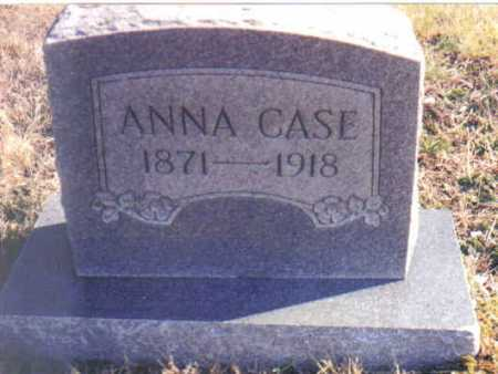 CASE, ANNA - Scioto County, Ohio | ANNA CASE - Ohio Gravestone Photos