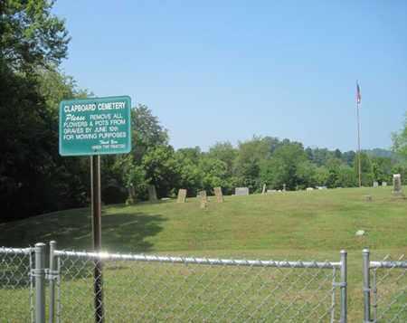 CEMETERY, CLAPBOARD - Scioto County, Ohio | CLAPBOARD CEMETERY - Ohio Gravestone Photos