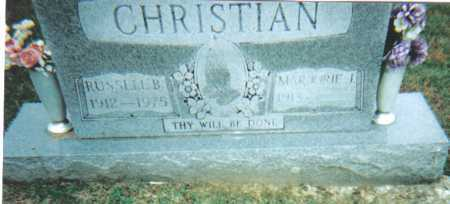 CHRISTIAN, MARJORIE J. - Scioto County, Ohio | MARJORIE J. CHRISTIAN - Ohio Gravestone Photos