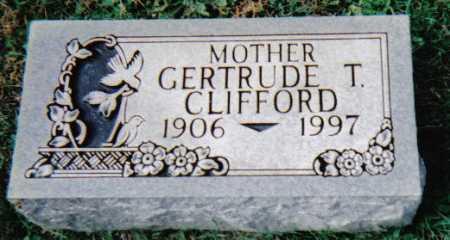 CLIFFORD, GERTRUDE T. - Scioto County, Ohio | GERTRUDE T. CLIFFORD - Ohio Gravestone Photos