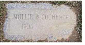 COCHENOER, MOLLIE B. - Scioto County, Ohio   MOLLIE B. COCHENOER - Ohio Gravestone Photos