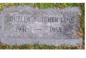 BUTCHER COLE, LOUELLA - Scioto County, Ohio | LOUELLA BUTCHER COLE - Ohio Gravestone Photos