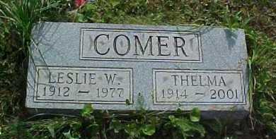 COMER, LESLIE W. - Scioto County, Ohio   LESLIE W. COMER - Ohio Gravestone Photos