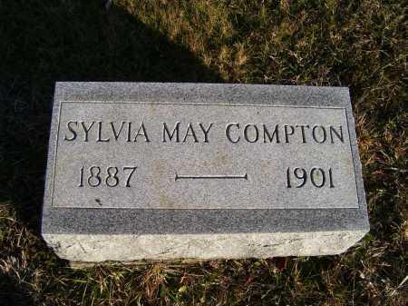 COMPTON, SYLVIA MAY - Scioto County, Ohio   SYLVIA MAY COMPTON - Ohio Gravestone Photos