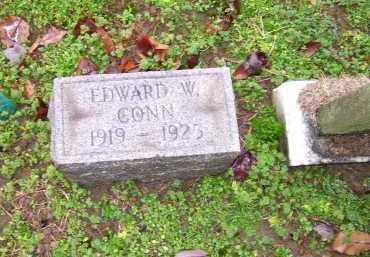 CONN, EDWARD W. - Scioto County, Ohio   EDWARD W. CONN - Ohio Gravestone Photos