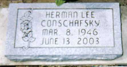 CONSCHAFSKY, HERMAN LEE - Scioto County, Ohio | HERMAN LEE CONSCHAFSKY - Ohio Gravestone Photos