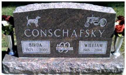 CONSCHAFSKY, WILLIAM - Scioto County, Ohio | WILLIAM CONSCHAFSKY - Ohio Gravestone Photos