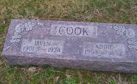 COOK, IRVEN - Scioto County, Ohio | IRVEN COOK - Ohio Gravestone Photos