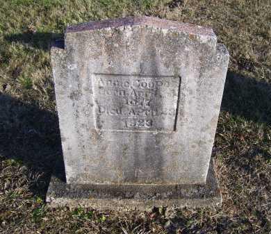 COOPER, ANNIE - Scioto County, Ohio   ANNIE COOPER - Ohio Gravestone Photos