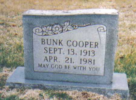 COOPER, BUNK - Scioto County, Ohio | BUNK COOPER - Ohio Gravestone Photos