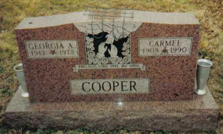 COOPER, GEORGIA A. - Scioto County, Ohio | GEORGIA A. COOPER - Ohio Gravestone Photos