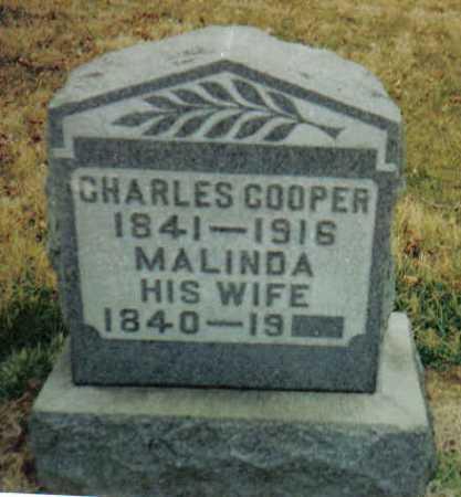 COOPER, MALINDA - Scioto County, Ohio | MALINDA COOPER - Ohio Gravestone Photos