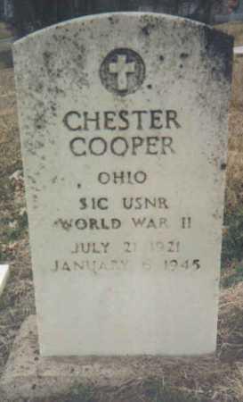 COOPER, CHESTER - Scioto County, Ohio | CHESTER COOPER - Ohio Gravestone Photos