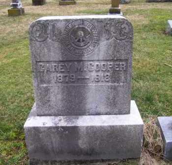 COOPER, CAREY M. - Scioto County, Ohio   CAREY M. COOPER - Ohio Gravestone Photos