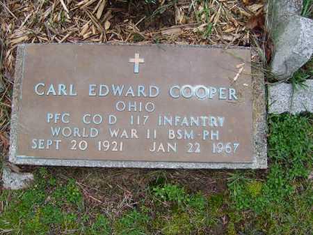 COOPER, CARL EDWARD - Scioto County, Ohio | CARL EDWARD COOPER - Ohio Gravestone Photos