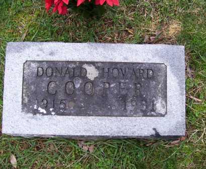 COOPER, DONALD - Scioto County, Ohio | DONALD COOPER - Ohio Gravestone Photos