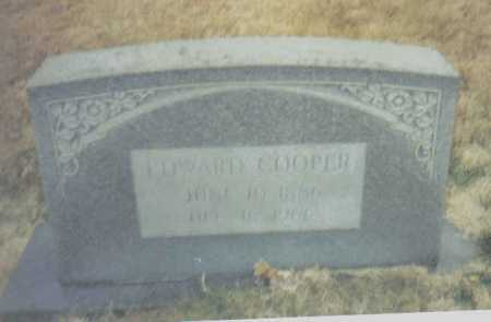 COOPER, EDWARD - Scioto County, Ohio | EDWARD COOPER - Ohio Gravestone Photos