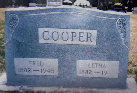 COOPER, FRED - Scioto County, Ohio   FRED COOPER - Ohio Gravestone Photos