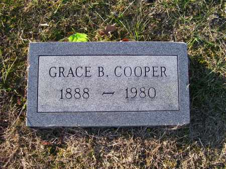 COOPER, GRACE B. - Scioto County, Ohio | GRACE B. COOPER - Ohio Gravestone Photos