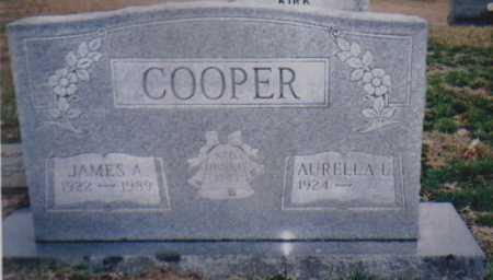 COOPER, JAMES A. - Scioto County, Ohio   JAMES A. COOPER - Ohio Gravestone Photos