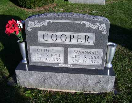 COOPER, SAVANNAH - Scioto County, Ohio | SAVANNAH COOPER - Ohio Gravestone Photos