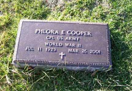 COOPER, PHLORA E. - Scioto County, Ohio   PHLORA E. COOPER - Ohio Gravestone Photos