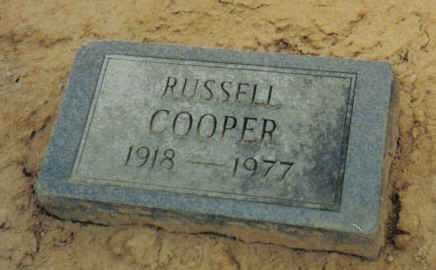 COOPER, RUSSELL - Scioto County, Ohio | RUSSELL COOPER - Ohio Gravestone Photos