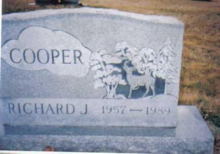 COOPER, RICHARD J. - Scioto County, Ohio   RICHARD J. COOPER - Ohio Gravestone Photos