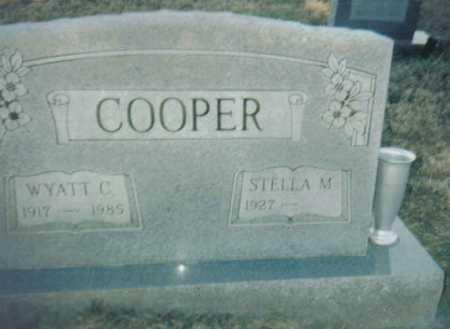 COOPER, WYATT C. - Scioto County, Ohio   WYATT C. COOPER - Ohio Gravestone Photos