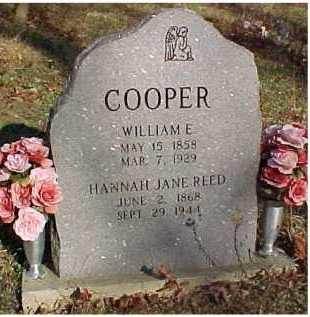 REED COOPER, HANNAH JANE - Scioto County, Ohio | HANNAH JANE REED COOPER - Ohio Gravestone Photos