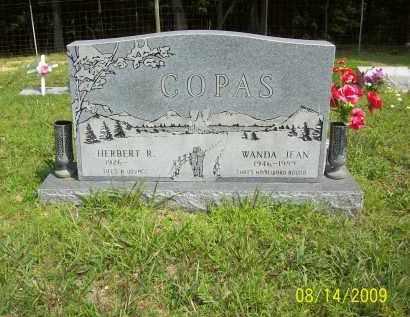 COPAS, HERBERT R - Scioto County, Ohio | HERBERT R COPAS - Ohio Gravestone Photos