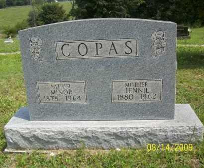 COPAS, JENNIE - Scioto County, Ohio | JENNIE COPAS - Ohio Gravestone Photos