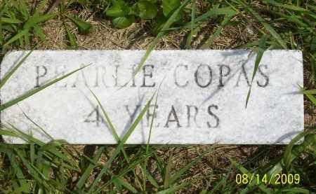 COPAS, PEARLIE - Scioto County, Ohio | PEARLIE COPAS - Ohio Gravestone Photos
