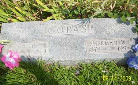 COPAS, MOLLIE - Scioto County, Ohio | MOLLIE COPAS - Ohio Gravestone Photos