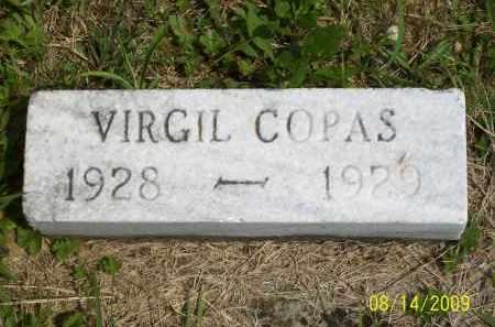 COPAS, VIRGIL - Scioto County, Ohio | VIRGIL COPAS - Ohio Gravestone Photos