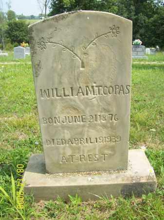 COPAS, WILLIAM T - Scioto County, Ohio   WILLIAM T COPAS - Ohio Gravestone Photos