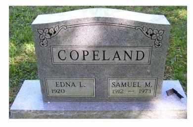 COPELAND, EDNA L. - Scioto County, Ohio | EDNA L. COPELAND - Ohio Gravestone Photos