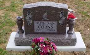 CORNS, RUTH ANN - Scioto County, Ohio | RUTH ANN CORNS - Ohio Gravestone Photos