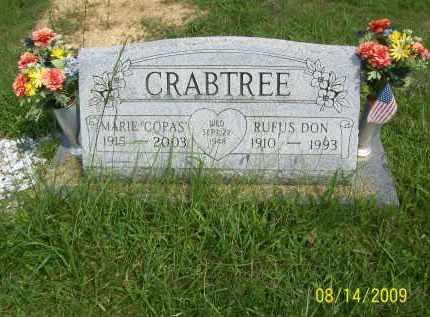 COPAS CRABTREE, MARIE - Scioto County, Ohio   MARIE COPAS CRABTREE - Ohio Gravestone Photos