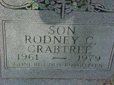 CRABTREE, RODNEY C. - Scioto County, Ohio | RODNEY C. CRABTREE - Ohio Gravestone Photos